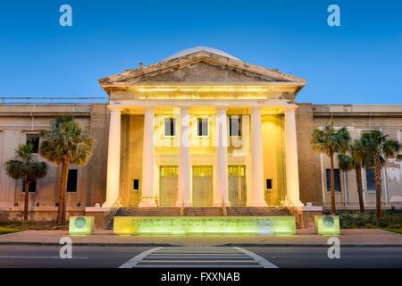 Cour suprême de l'État de Floride à Tallahassee, Floride, USA. Banque D'Images