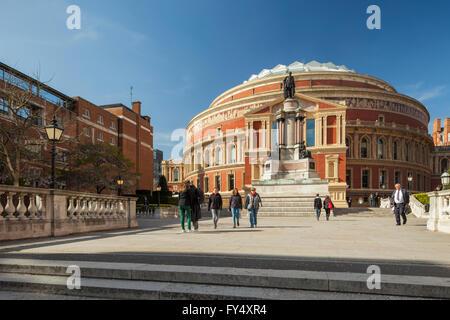 Albert Hall, de Kensington, Londres, Angleterre. Banque D'Images