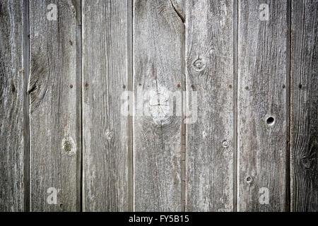 Les planches de bois patiné en orientation paysage d'arrière-plan Banque D'Images