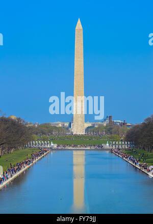 Washington Monument et miroir d'eau