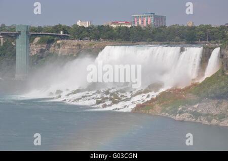 Chutes du Niagara Banque D'Images