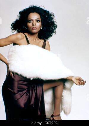 Diana Ross / Acajou / 1975 réalisé par Berry Gordy et Tony Richardson (Motown Productions / Nikor Productions / Paramount Pictures) Banque D'Images