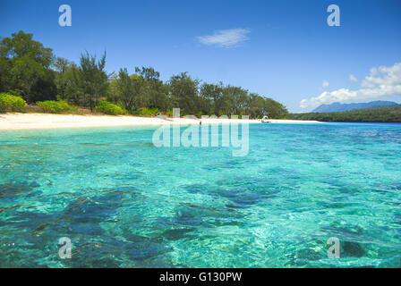 Les plages tropicales sur l'île de Jaco au Timor oriental