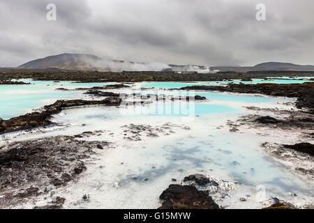 Le Blue Lagoon, Islande, régions polaires