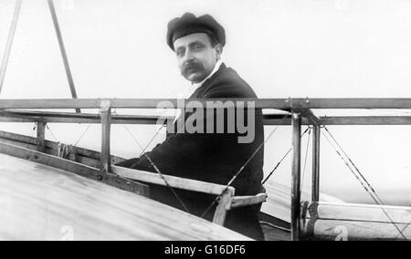Charles Joseph Louis Blériot (1 juillet 1872 - 1 août 1936) était un aviateur français, inventeur et ingénieur. Banque D'Images