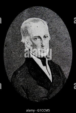 Portrait de François II, empereur romain germanique (1768-1835) le dernier empereur romain. En date du 19e siècle Banque D'Images