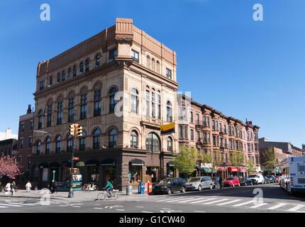 328 7e Avenue à l'angle de 9th Street Brooklyn Industries Building, New York, USA Banque D'Images