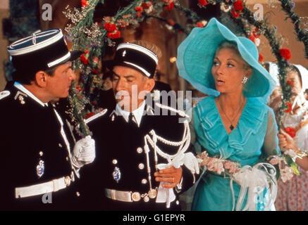 Le gendarme se marie, alias: Balduin der Heiratsmuffel, Frankreich 1968, Regie: Jean Girault, acteurs: (v. l.) Banque D'Images