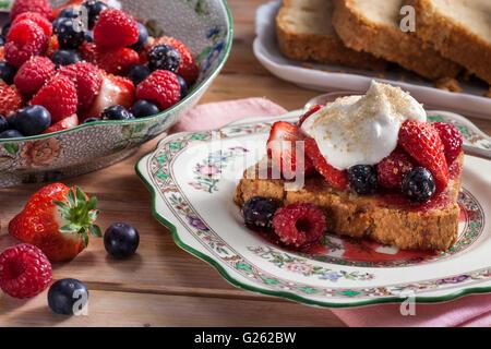 Gâteau quatre-quarts Banque D'Images