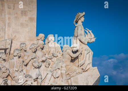 Monument des Découvertes du nouveau monde en Lisboa, Portugal Banque D'Images