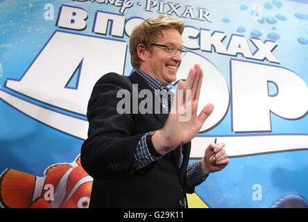 Moscou, Russie. 27 mai, 2016. Réalisateur Andrew Stanton donne une conférence de presse pour promouvoir le prochain Banque D'Images