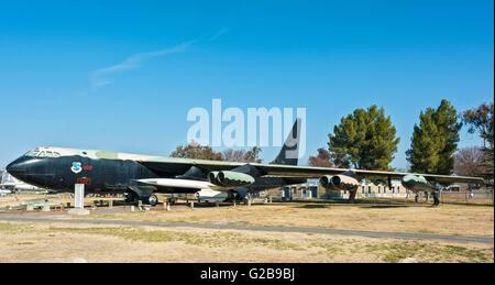 Californie, Atwater, Castle Air Museum, Boeing B-52 D Stratofortress, schéma de peinture de l'ère du Vietnam