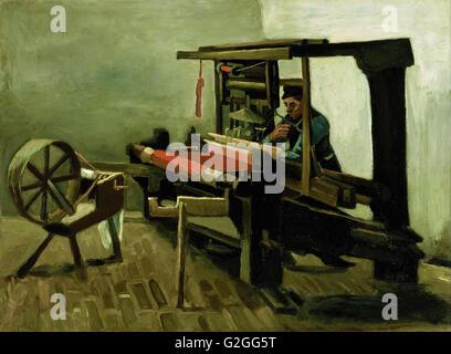 Vincent van Gogh - Weaver - Musée des beaux-Arts, Boston Banque D'Images