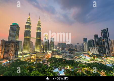 Kuala Lumpur, Malaisie. Banque D'Images
