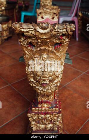 Instruments de musique percussive traditionnelle balinaise 'instruments de gamelan' musique d'ensemble, Ubud, Bali, Banque D'Images