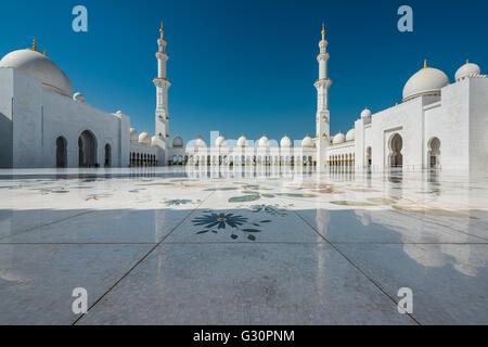 La transcendance, la Grande Mosquée Sheikh Zayed, Abu Dhabi Banque D'Images