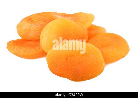 Les abricots séchés heap Banque D'Images