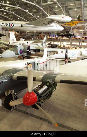 L'intérieur de l'espace aérien; '', une partie de l'Imperial War Museum, Duxford Cambridgeshire, Royaume-Uni Banque D'Images
