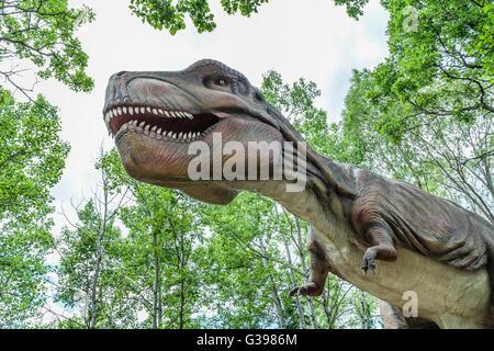 Dinosaure Dinosaures... vivants Banque D'Images