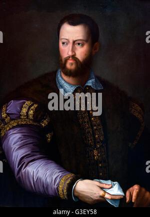 Cosimo I de' Medici (1519-1574), Grand-duc de Toscane. Il est surtout connu aujourd'hui pour la création de la galerie Banque D'Images