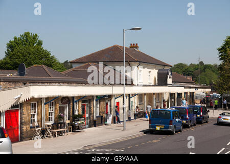 Gare, Winchester, Hampshire, Angleterre, Royaume-Uni, Europe Banque D'Images