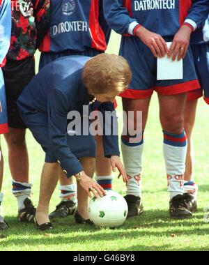 1 Élection Thatcher Aldershot Banque D'Images