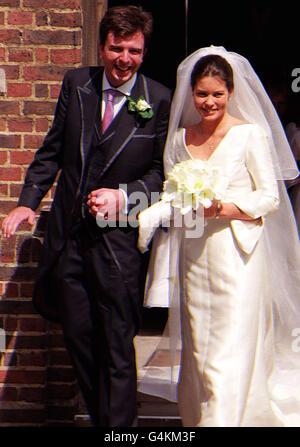 Shaw & Keswick/congé de mariage Banque D'Images