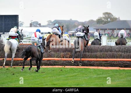 Les courses de chevaux - Bangor-sur-Dee Hippodrome