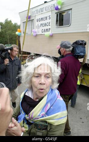 Greenham Common femmes quittent Banque D'Images