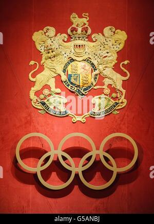 Réception du Comité International Olympique Banque D'Images