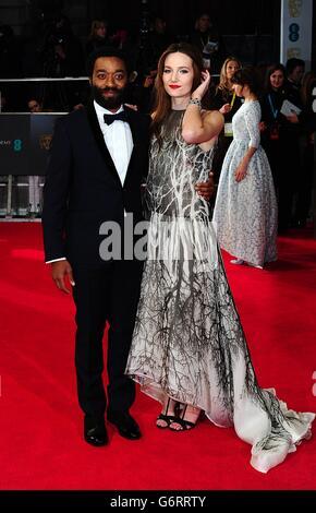 BAFTA Film Awards 2014 - Arrivées - Londres Banque D'Images