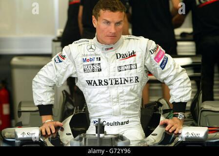Les pilotes de Formule 1 - West End Banque D'Images