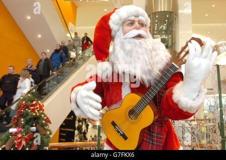 Le Père Noël Banque D'Images