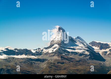 Matterhorn, Zermatt, Suisse Banque D'Images