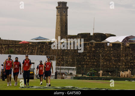 Cricket - Angleterre- session filets Galle