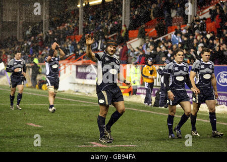 Rugby Union - 2008 Bank of Scotland Corporate Automne Test - Ecosse v Canada - Pittodrie Stadium