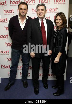 Gordon Brown ouvre la Radio Mondiale Siège - Londres