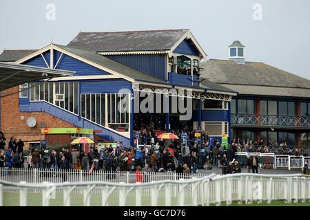 Les courses de chevaux - Hippodrome de Leicester