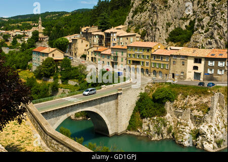 Sisteron [Hautes-alpes] Provence France Banque D'Images