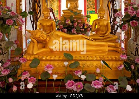 Beaux-arts, l'art religieux, la Thaïlande, la Thaïlande, l'artiste n'a pas d'auteur pour être effacé Banque D'Images