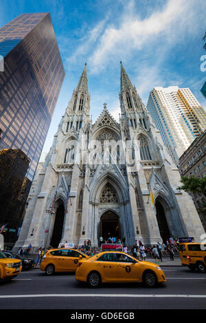 La Cathédrale Saint Patrick à New York City