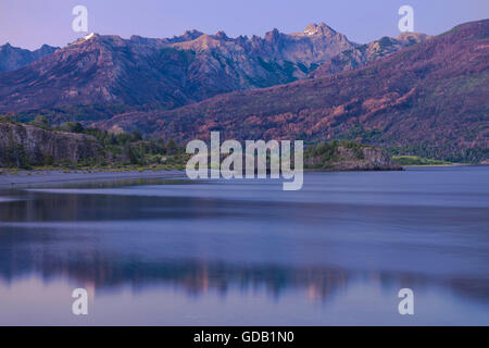 L'Amérique du Sud Argentine Patagonie,,Rio Negro,Esquel,,Los Alerces National Park Banque D'Images