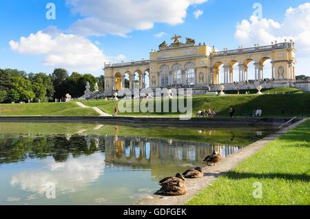 Wien, Vienne: chapelle du château de Schönbrunn, l'Autriche, Wien, 13. Banque D'Images