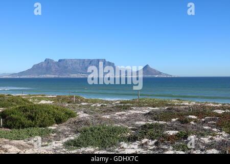 Table Mountain, Cape town afrique du sud Banque D'Images