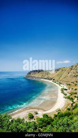 Paradis tropical Cristo Rei plage près de Dili au Timor oriental Asie