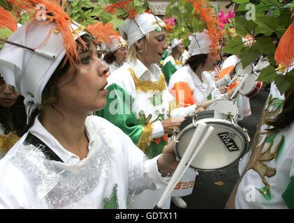 Carnaval des Cultures Banque D'Images