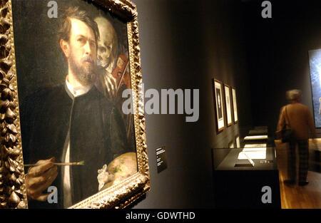 Immortel! Le culte de l'artiste, dans les salles d'exposition au Kulturforum Potsdamer Platz Banque D'Images