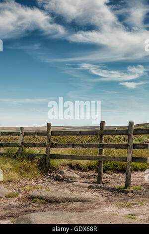 Image paysage du parc national de Peak District, dans le Derbyshire Banque D'Images