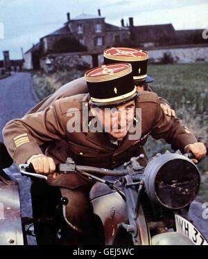 Die siebter Kompanie der franzoesischen Bloedheit Infanterie stellt ihre erneut unter preuve a été. *** *** 1975 Banque D'Images