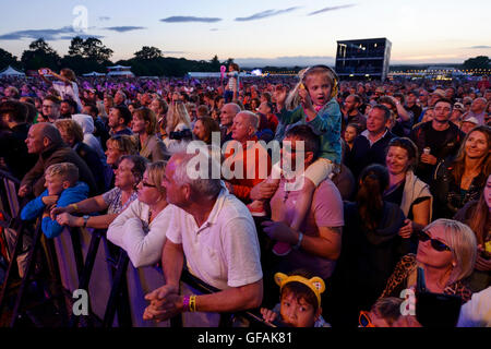 Bolesworth Carfest, Nord, Cheshire, Royaume-Uni. 29 juillet 2016. L'événement est l'invention de Chris Evans et Banque D'Images